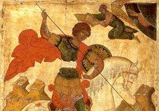 На Кипре замироточила икона святого великомученика Георгия Победоносца