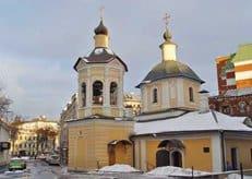 Уникальная роспись открывается в столичном храме Сергия Радонежского в Крапивниках