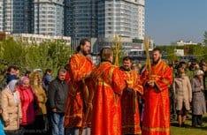 На Ходынском поле более тысячи москвичей отпраздновали 700-летие рождения святого Сергия Радонежского