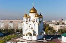 В Красноярск принесен ковчег с частицей мощей святого Валентина