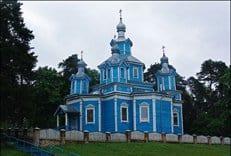 В Беларуси сгорел уникальный деревянный храм XIX века