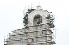 В Ленинградской области дети помогли расписать храм