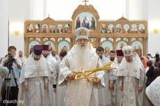В Минске освятили новый храм в честь архангела Михаила