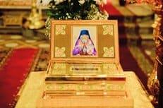 В Россию прибыл ковчег с частицей мощей святителя Иоанна Шанхайского