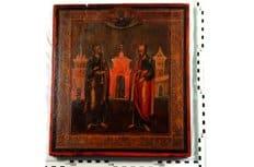Германия вернула России икону XIX века, похищенную из храма в Костромской области