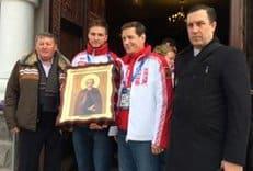 Для олимпийских сборных России, Украины, Беларуси и Молдовы написали иконы преподобного Сергия Радонежского