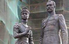 В Санкт-Петербурге открыли памятник последней императорской чете