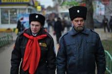 Казаки начинают патрулировать центр Москвы