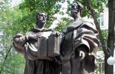 В Твери открыли памятник равноапостольным Кириллу и Мефодию