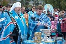 В Красноярске воссоздают кафедральный собор в честь Рождества Богородицы