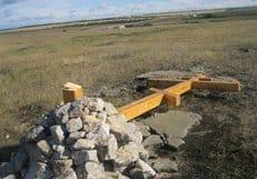 В алтайском селе, где был спилен крест, возводят храм-часовню