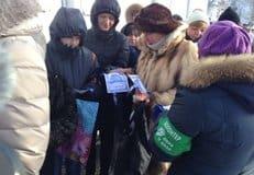 В праздник Крещения столичные волонтеры провели массовые акции по раздаче просветительских листовок