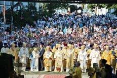 В день Крещения Руси в Киеве совершили праздничную литургию