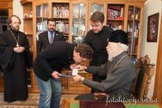 Актер Сергей Маковецкий награжден орденом Украинской Православной Церкви
