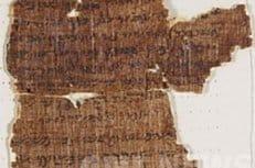 В Кембридже оцифровали древнейший манускрипт с десятью заповедями