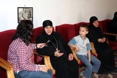 Настоятельница монастыря из поселения Маалула рассказала о нападении экстремистов и призвала сирийцев к миру