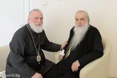 Митрополит Минский и Слуцкий Павел навестил в больнице митрополита Филарета