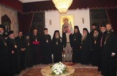 Представители Русской Церкви приняли участие в молитве о мире на реке Иордан