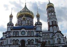 Патриарх Кирилл освятил самый крупный шахтерский храм России