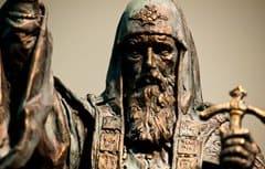 В Москве открыли памятник священномученику патриарху Ермогену