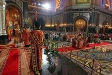 В пасхальные дни в храмы Москвы пришли более 600 тысяч человек