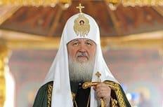 Патриарх Кирилл помолился о упокоении погибших в южно-сахалинском храме