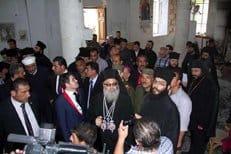 Патриарх Антиохийский Иоанн Х посетил освобожденное селение Маалюля