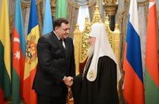 Патриарх Кирилл отметил вклад Президента Республики Сербской Милорада Додика в укрепление православия