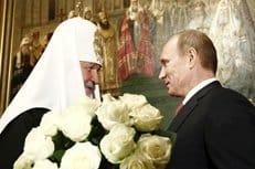 Владимир Путин поздравил патриарха Кирилла с днем рождения