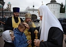 Патриарх Кирилл возглавил торжества в честь 30-летия возрождения Свято-Данилова монастыря