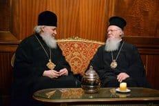 Патриарх Кирилл встретился с Константинопольским патриархом Варфоломеем