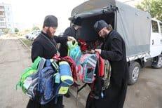 Синодальный отдел по делам молодежи направил две партии гуманитарной помощи на Дальний Восток