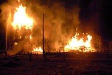 В Хабаровске сгорел один из главных городских храмов