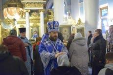 Митрополит Волоколамский Иларион совершил чин присоединения к Церкви временно отпавших