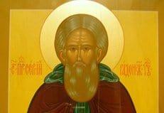Чтимая икона Сергия Радонежского принесена в Георгиевскую епархию Ставропольской митрополии