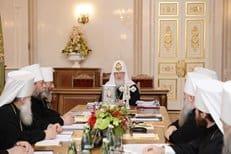 Синод утвердил новые назначения на епархиальные кафедры