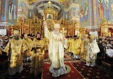 В Ханты-Мансийске освятили кафедральный собор Воскресения Христова