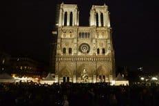 Собор Парижской Богоматери оснастили новой системой освещения
