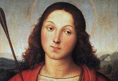 Картину Рафаэля «Святой Себастьян» представили в Милане после реставрации