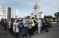 Патриарх Кирилл освятил таллинский храм в честь иконы «Скоропослушница»