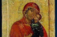 В Новоспасский монастырь принесен чтимый список Толгской иконы Божией Матери