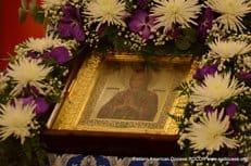 В Америку прибыла мироточивая икона Божией Матери «Умягчение злых сердец»