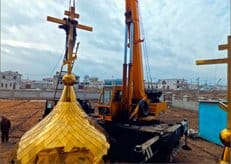 Накануне праздника Крещения в узбекском Ургенче завершилось строительство первого православного храма