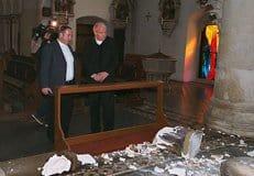 В Вене осквернено сразу шесть католических храмов