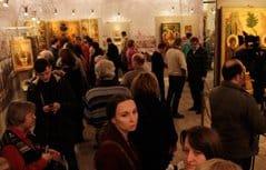 Президентская библиотека организовала выставку, посвященную святому Сергию Радонежскому