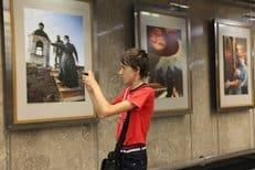 В столичном метро открылась фотовыставка «Два Крещения Руси»