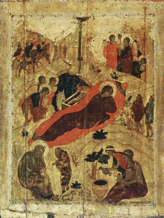 Иконография Рождества Христова