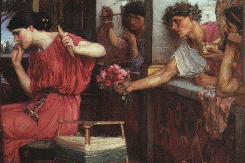 penelope and telemachus true heroes of Free comparing odysseus papers, essays, and research papers my account throughout the journeys of the odyssey, odysseus' true character shows heroes are.