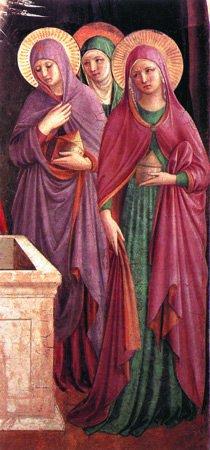 Неделя третья. Мироносицкая, 22 апреля - 28 апреля. Верные ученицы и тайные ученики