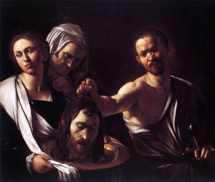Караваджо: «Саломея с головой Иоанна Крестителя»